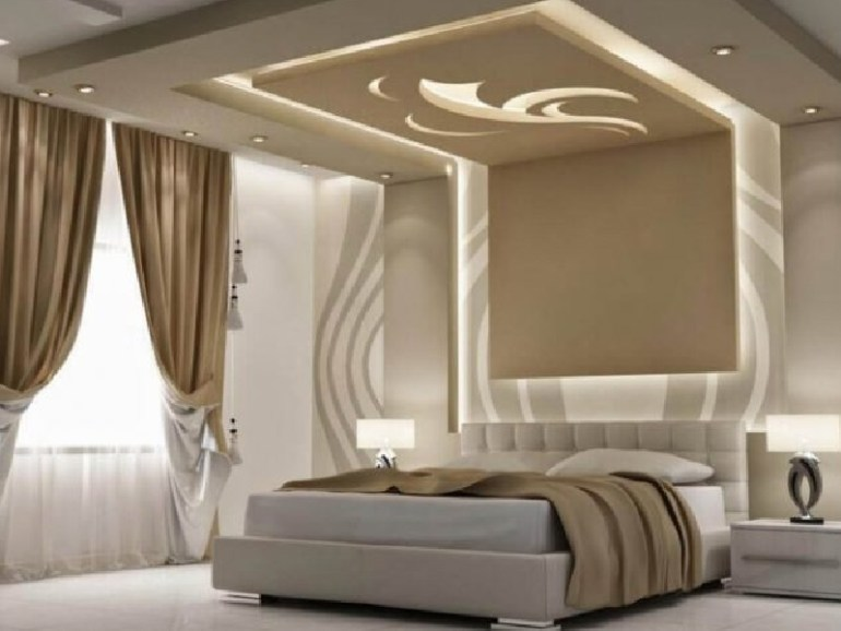 latest ceiling design for bedroom