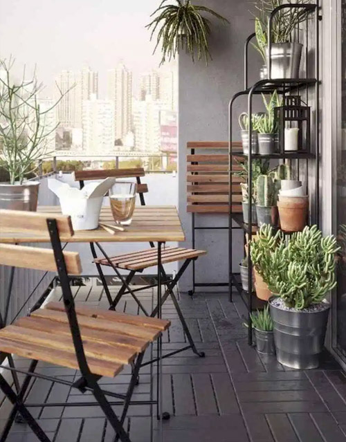 Affordable Small Balcony