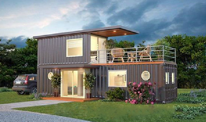 Beautiful Container House 1