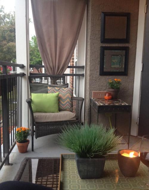 Covered Balcony Decor Ideas