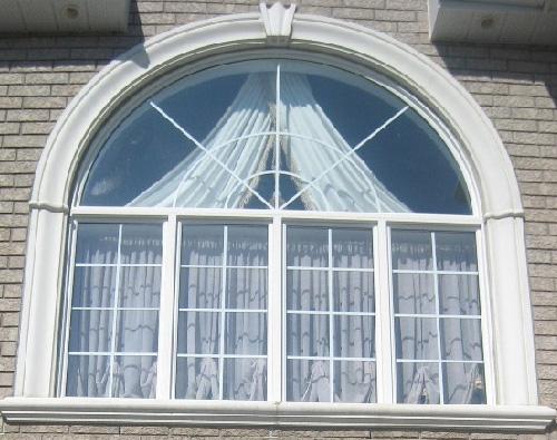 Elegant Bungalow Window Design