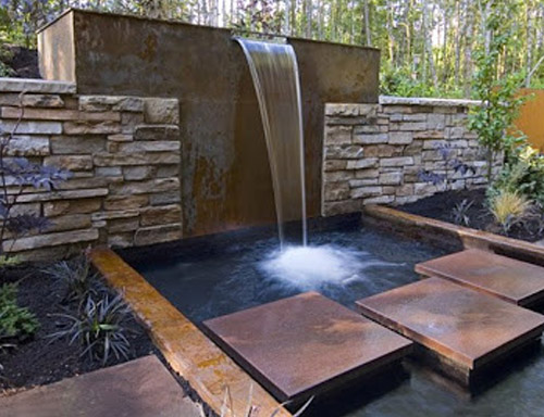 Garden Water Falls