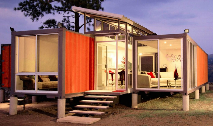 House Design with Container
