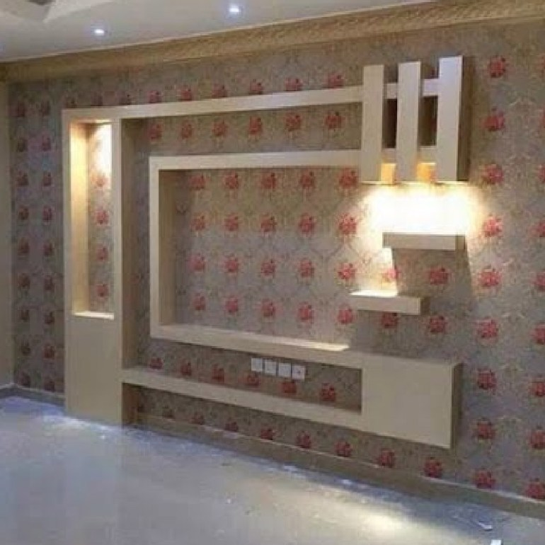 Media Wall Lighting Design