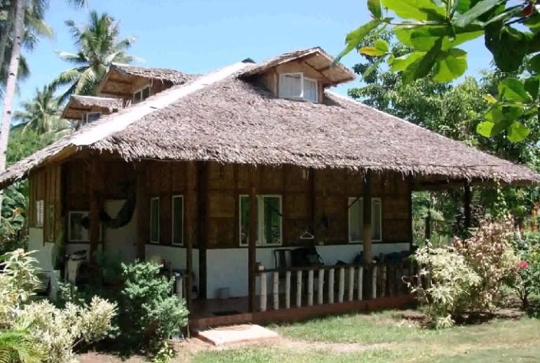Nipa Hut House Design