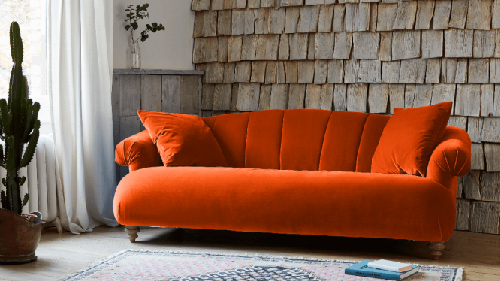 Orange Sofa Designs