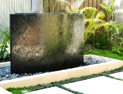 Outdoor Water Wall For Your Backyard