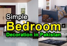 Photo of Simple Bedroom Decoration in Pakistan