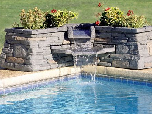 Stone Waterfall Fountain
