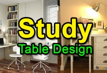 Photo of Study Table Designs for Small Rooms