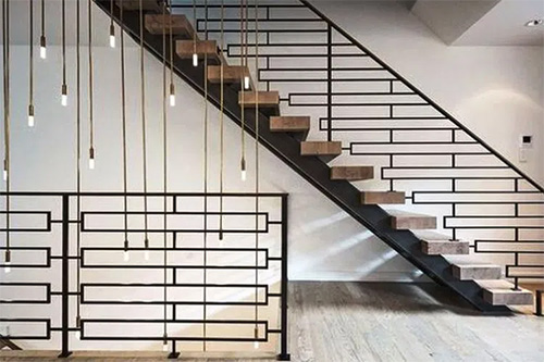 Stylish Staircase Railing