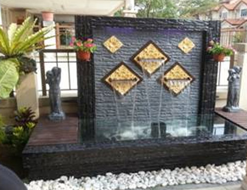 Wall Water Fountain Design