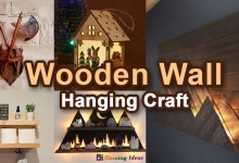 Photo of Wooden Wall Hanging Craft Decoration Ideas