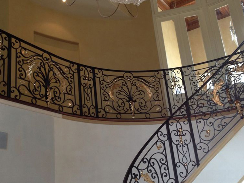 Complex Iron Railings Designs