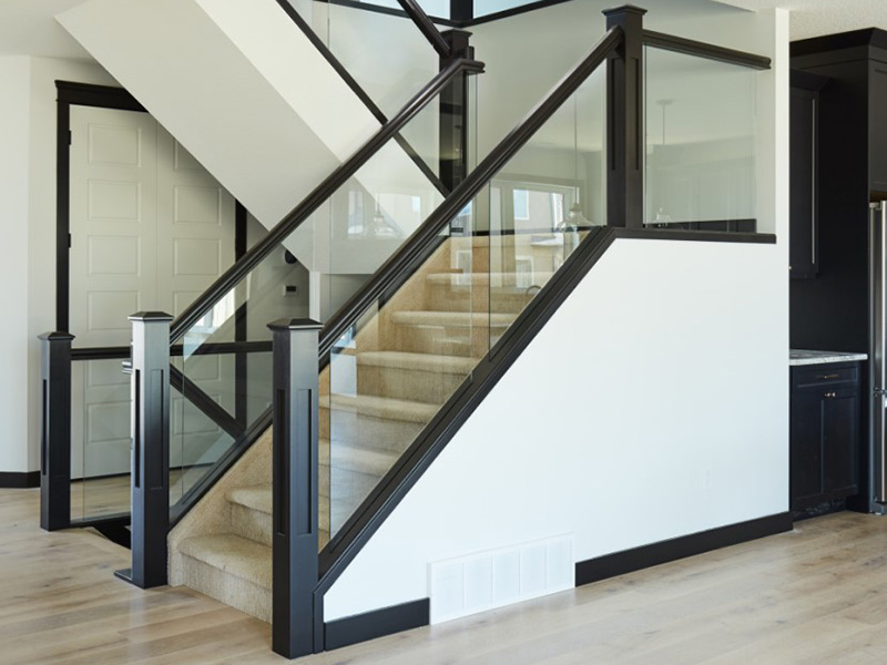 Modern Glass Railing