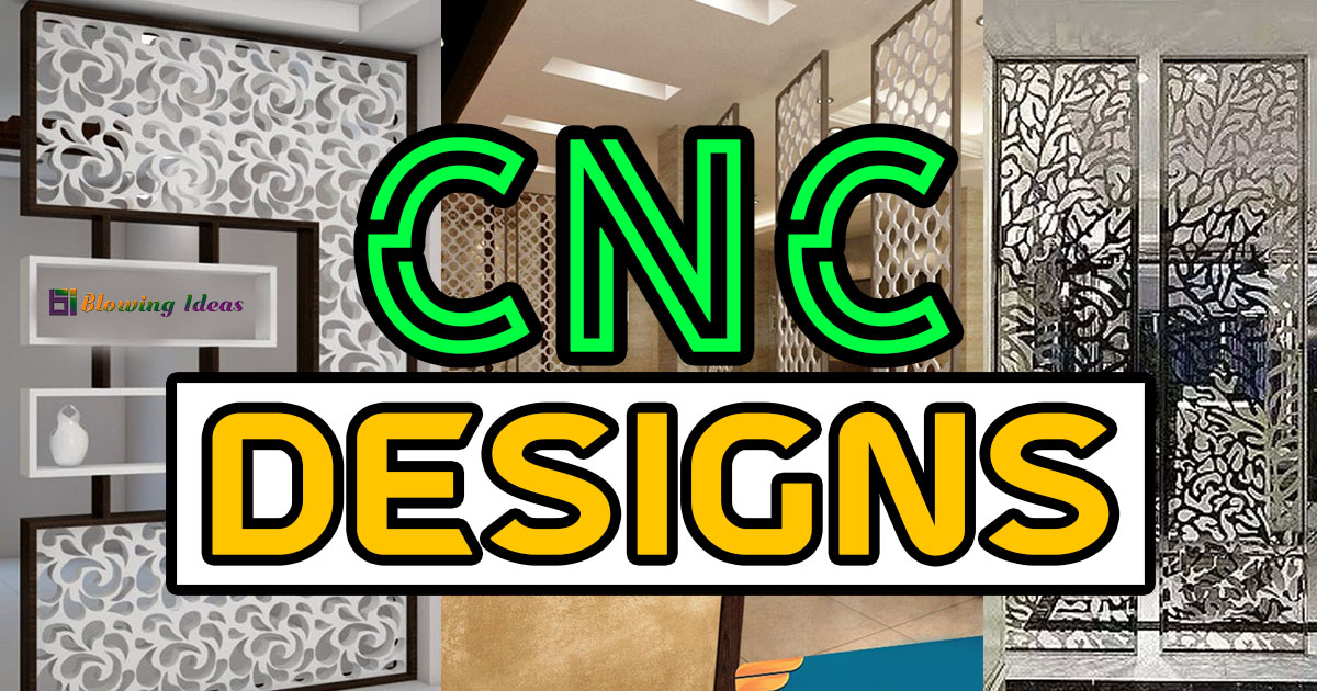 CNC Partition Wall Design Ideas Styles