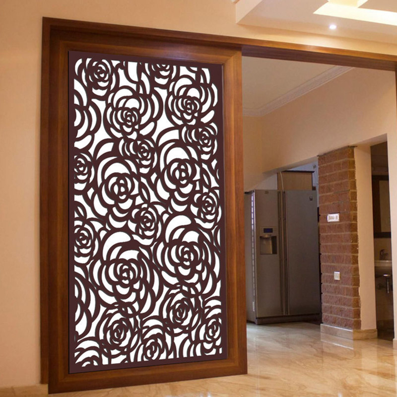Rose Partition Grill Design