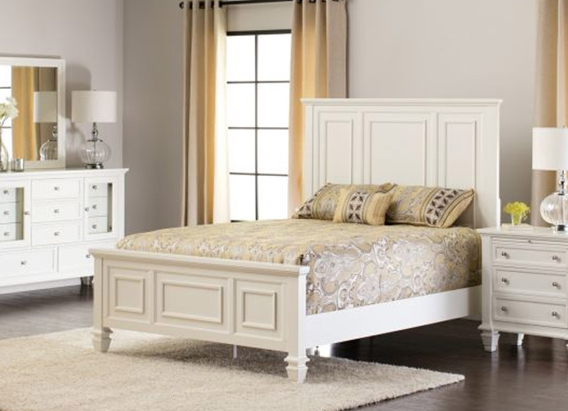 Sandy Beach Queen Bed Design