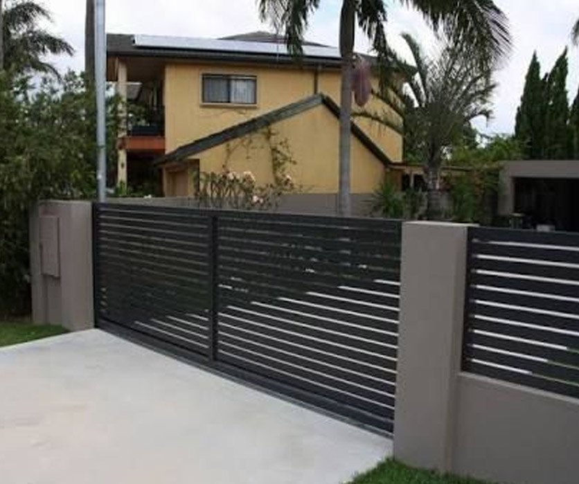Aluminum Black Gate