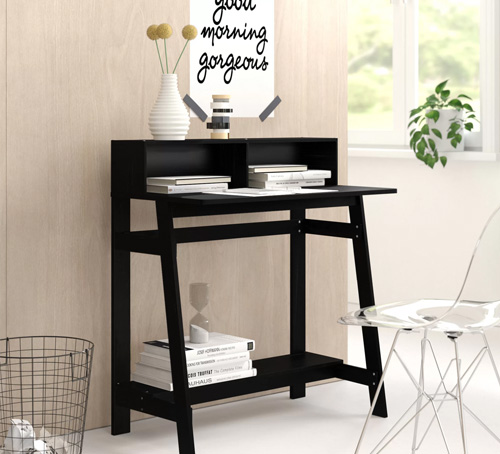 Black Study Table