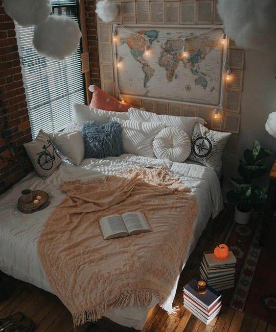 Map Light In Bedroom