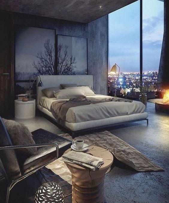 Natural Lighting Bedroom Idea