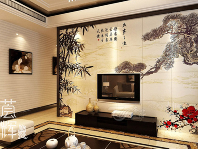 Ceramic Art Painting Picture Wall Tile For Living Room