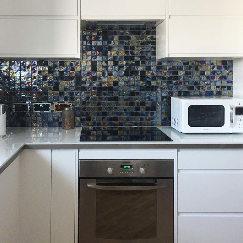 Dark Stone Kitchen Tile