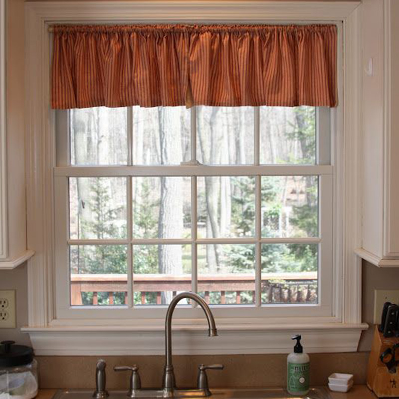 Simple Curtain Design For Kitchen