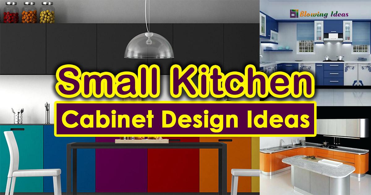 Small Kitchen Cabinet Design Ideas