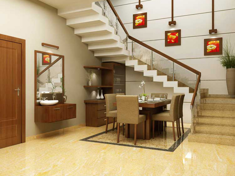 Stair In Hall Design
