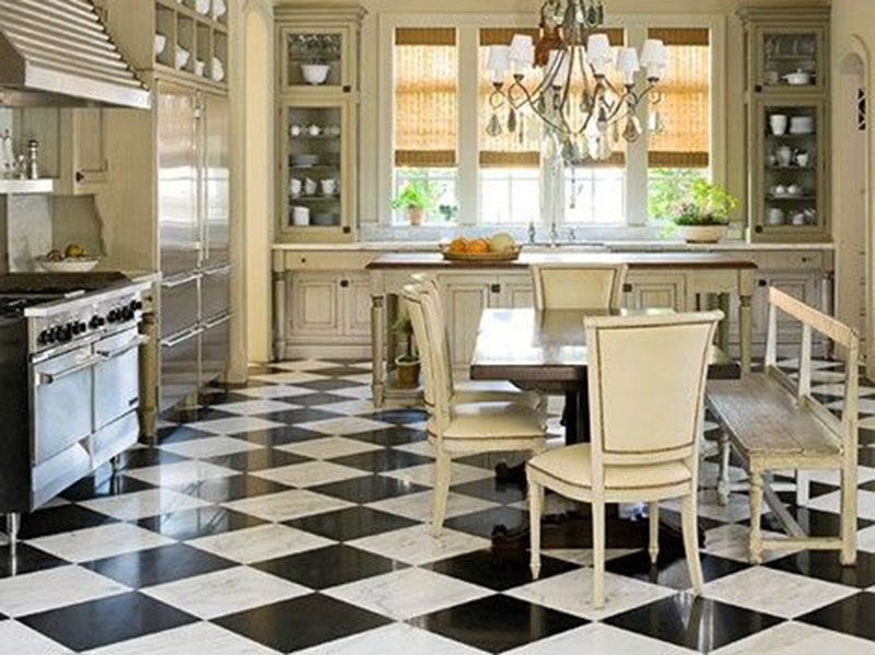 French Style Kitchen Floor Tiles