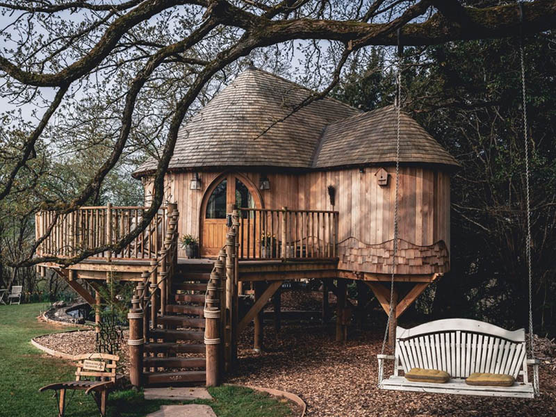 Glamping Tree House