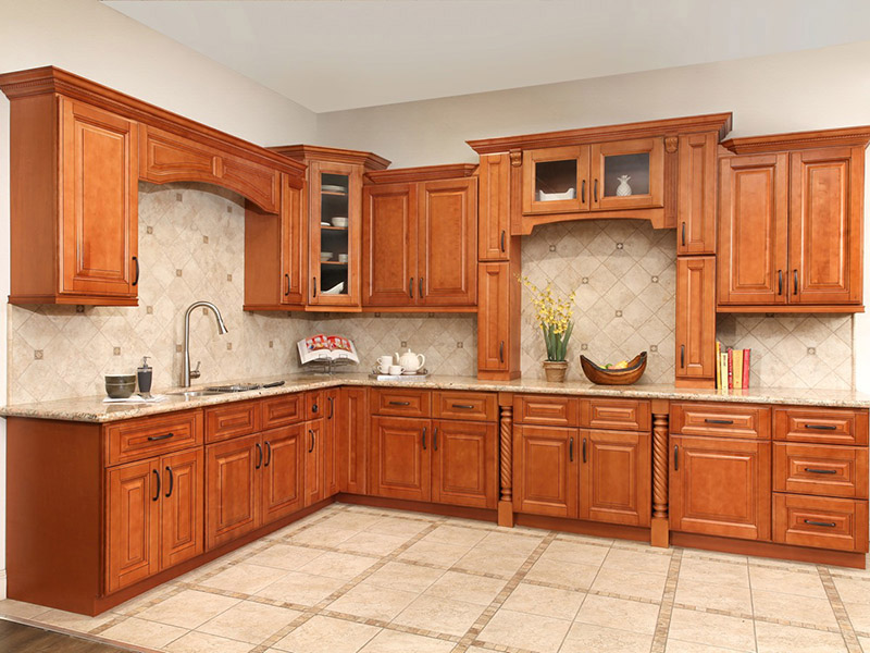 Solid Kitchen Cabinet Wooden