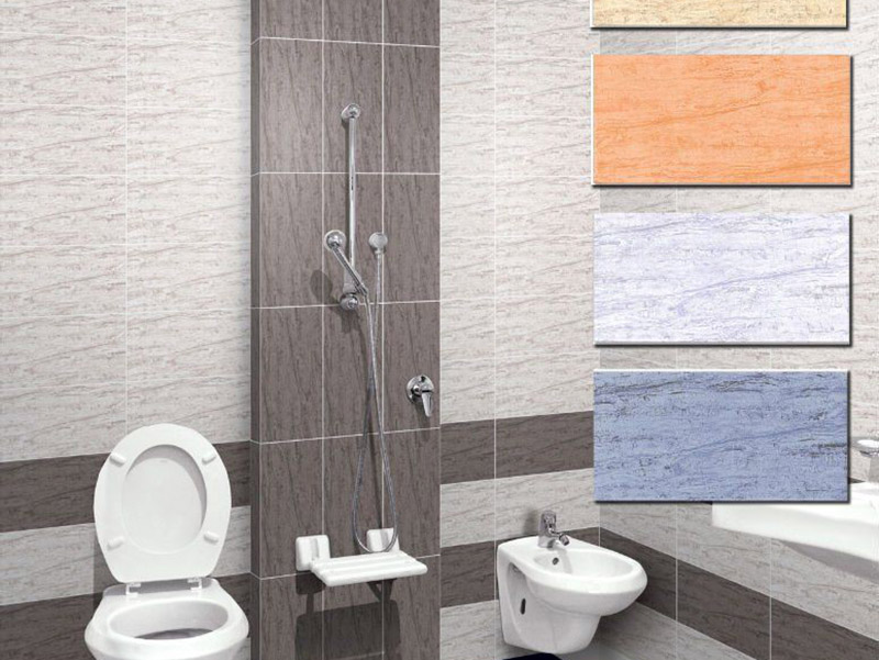 Colored Ceramic Bath Room Wall Tiles