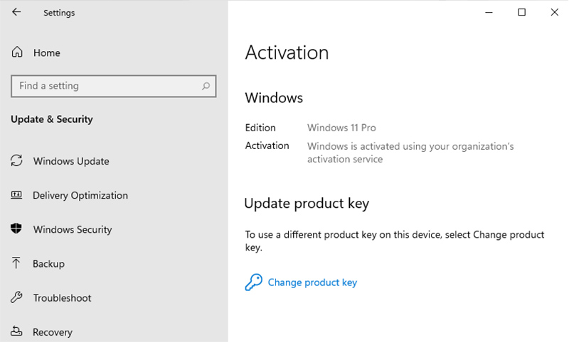 Windows 11 Is Fully Activated