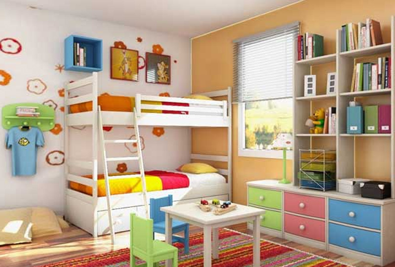Bunk Bed Design Ideas For Small Bedrooms