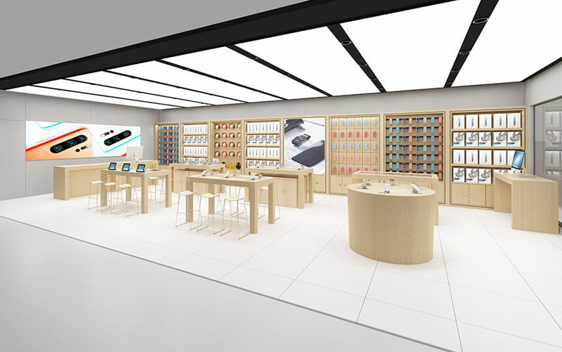 Mobile Phone Store Design Style