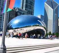 Fasolka w Parku Millenium w Chicago