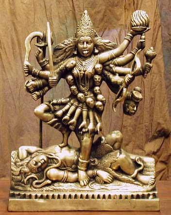 bogini Kali - dla Hindusów Matka