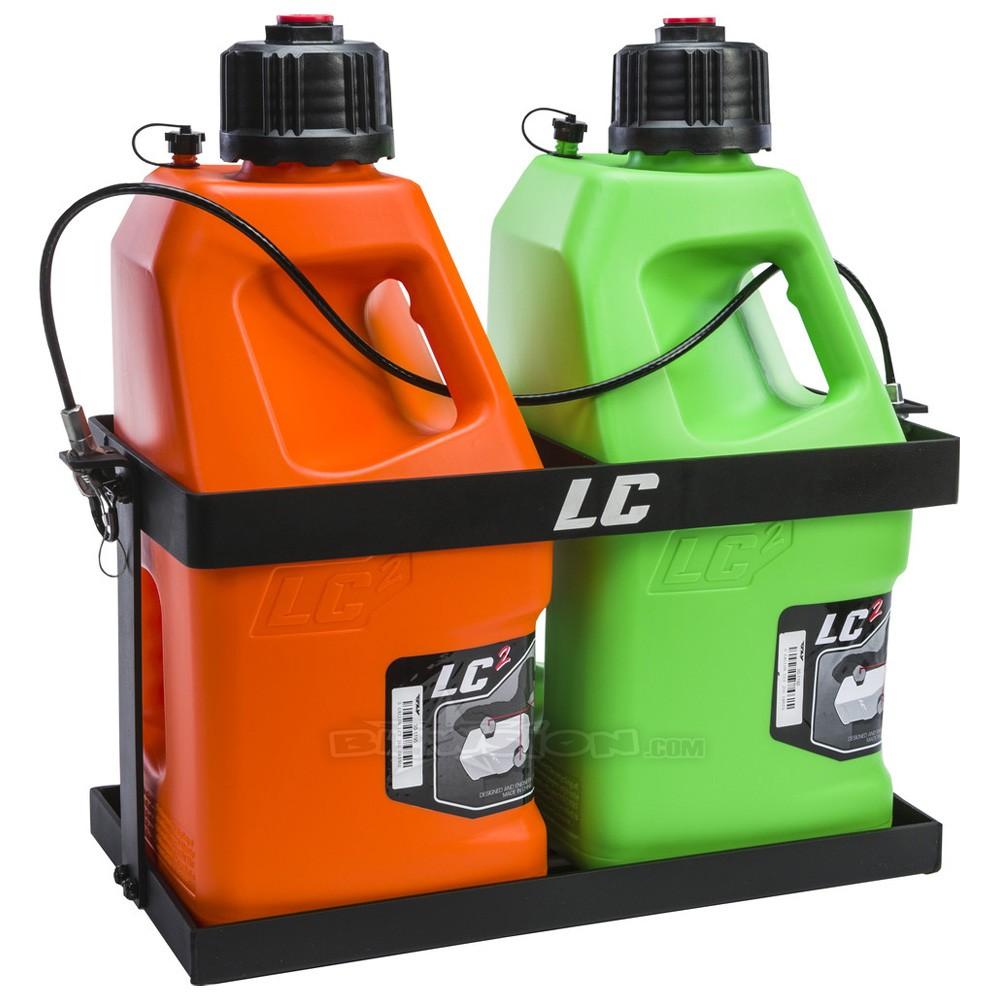 fuel jug rack dual