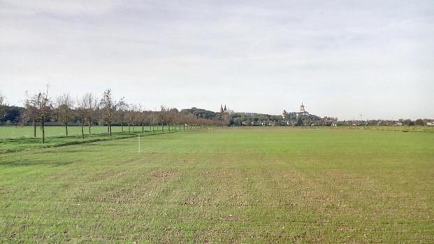 Blick auf die Oberstadt von Kleve