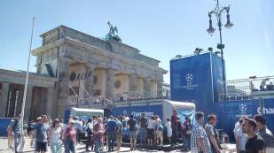 Fanmeile zum Champions-League-Finale am Brandenburger-Tor