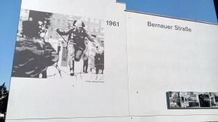 Hausfassade an der Bernauer Straße