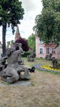 Skulpturen in Domnähe