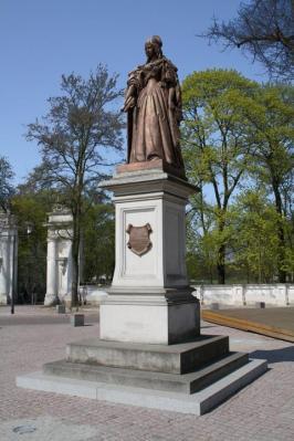Denkmal für Kurfürstin Luise Henriette