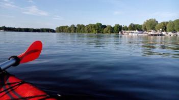 Unterwegs auf dem Lehnitzsee