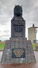 Denkmal für die deutschen Marinesucher im Krieg.