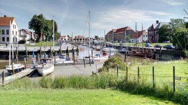 Der alte Hafen von Tönning