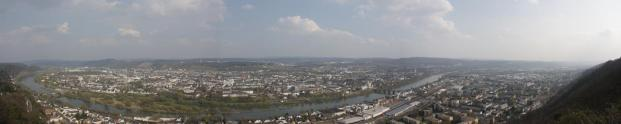 Stadtpanorama von der Mariensäule aus gesehen